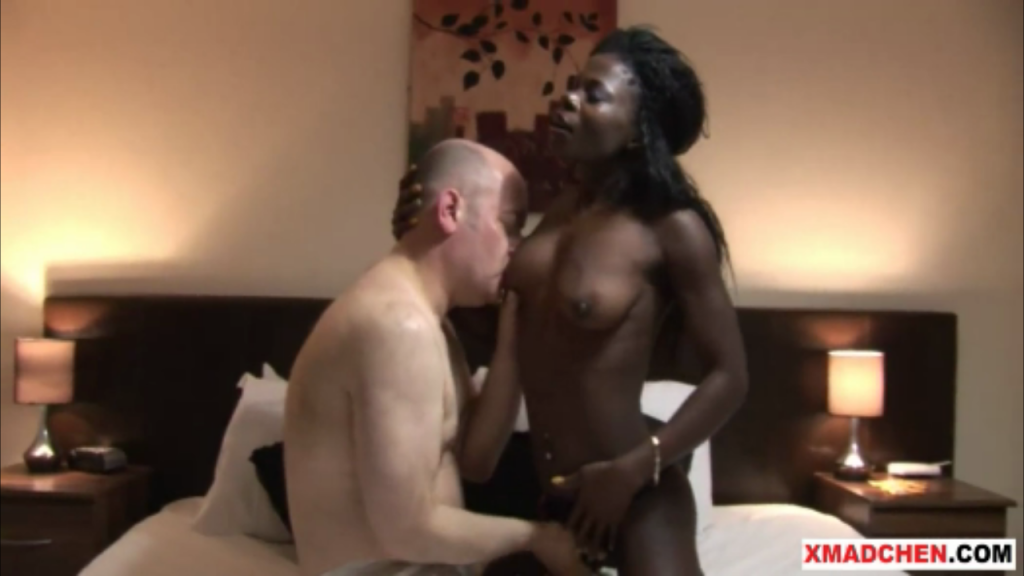 Black Teen Fucks White Guy